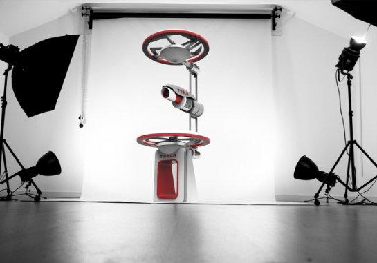 Британский дизайнер создал концепт дрона Tesla