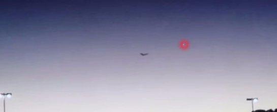 НЛО в форме бабочки испугал американцев