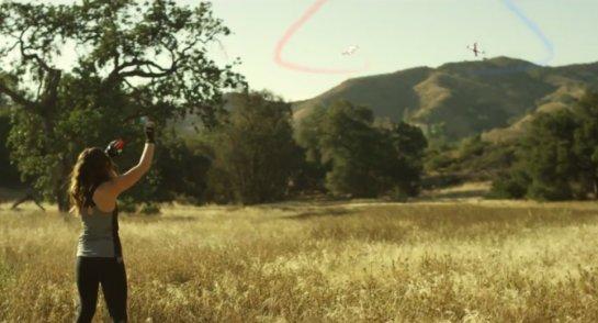 Видео дня: DJI Phantom X – концепт дрона будущего