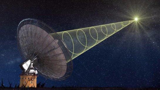 Астрономы поймали пять таинственных сигналов из космоса