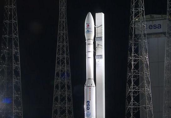 Ракета с украинским двигателем вывела в космос европейский зонд (Видео)