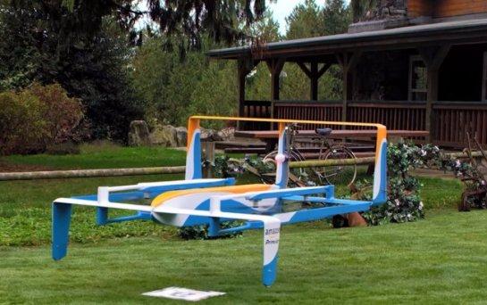 Amazon показала нового дрона-доставщика