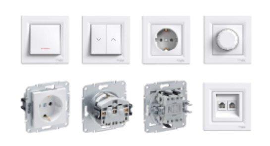 Schneider Asfora: электричество с комфортом