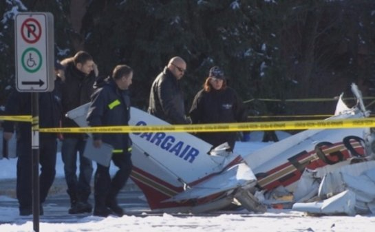В Канаде произошла авиакатастрофа