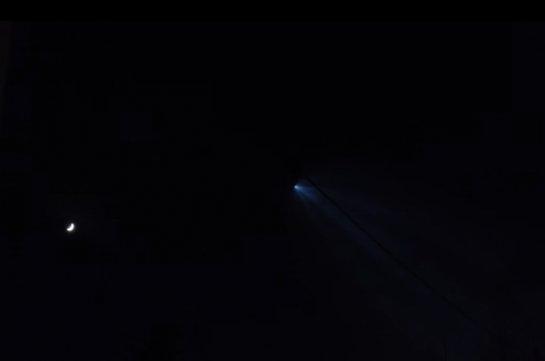 НЛО размером с десять футбольных полей замечено в небе над Екатеринбургом