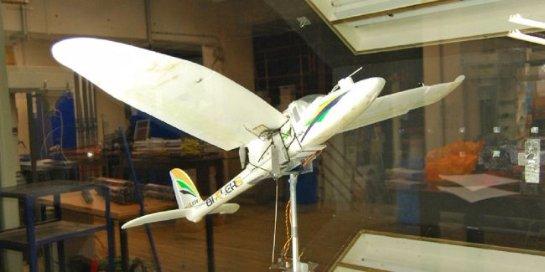 Британские инженеры разработали прототип дрона с «птичьими» крыльями