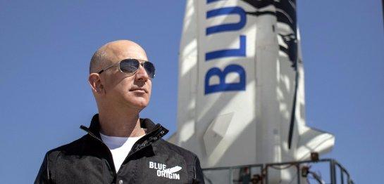 Основатель Amazon построит ракету для полёта на Луну