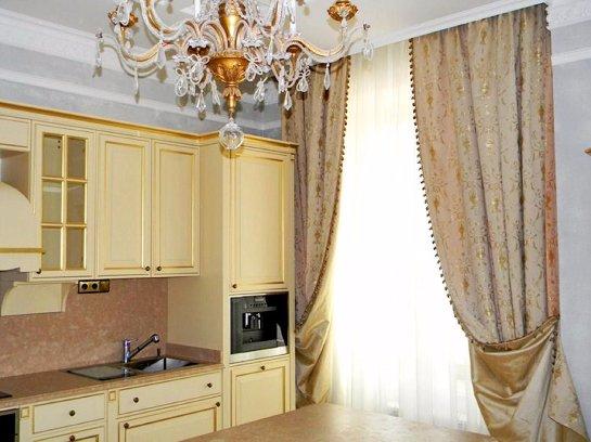 Выбор штор для интерьера в классическом стиле