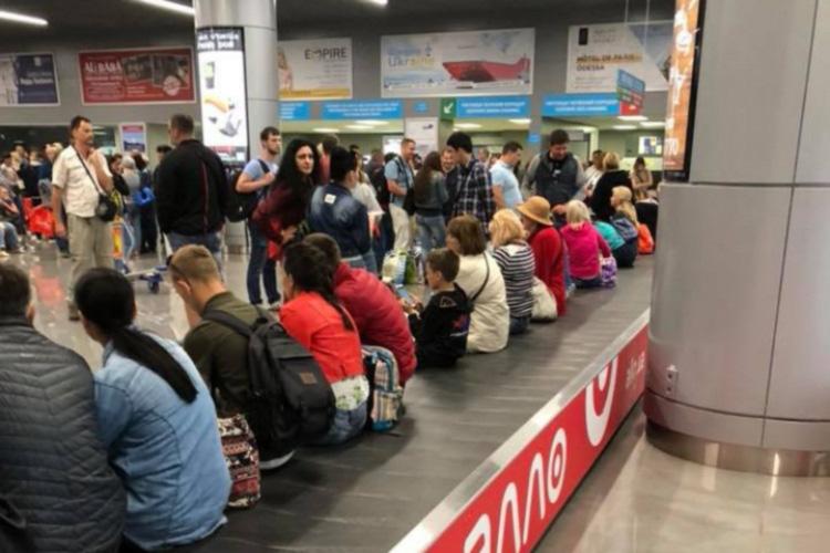 Пассажиры одесского аэропорта два часа ждали багаж