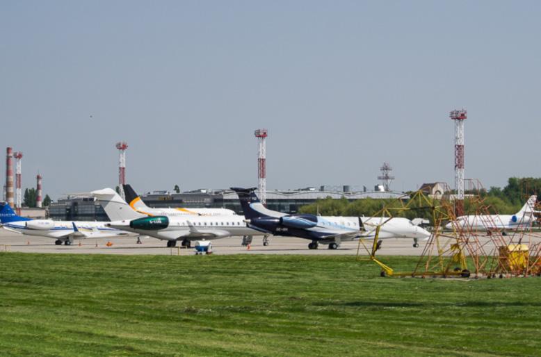 Аэропорт «Борисполь» принял на 22% больше бортов бизнес-авиации к финалу ЛЧ