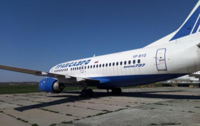 Boeing 737 обанкротившейся «Трансаэро»продают за 36 млн гривен