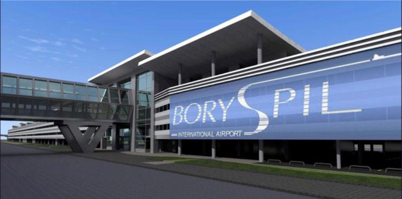 В аэропорту Борисполь к финалу ЛЧ оборудуют временные автостанции