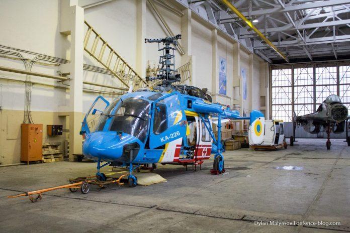 ВМС Украины получили вертолет Ка-226