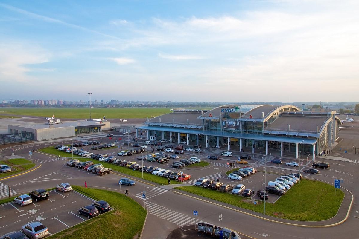 Аэропорт «Киев» планирует по итогам года обслужить около 2.8 млн. пассажиров