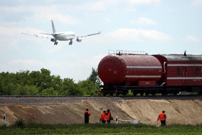 «Укрзализныця» потратит на ж/д ветку в аэропорт Борисполь на 217 млн. грн. меньше