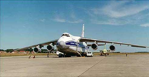 В России считают решаемой задачей воспроизводство самолета Ан-124 «Руслан»