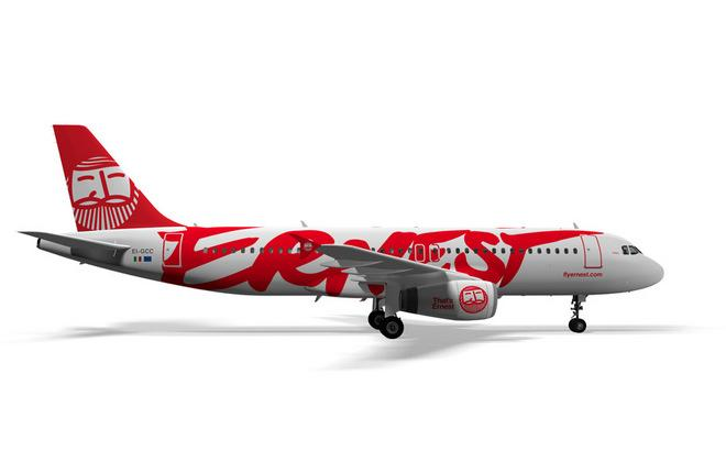 Ernest Airlines открывает рейсы из Киева в Рим и в главный аэропорт Милана