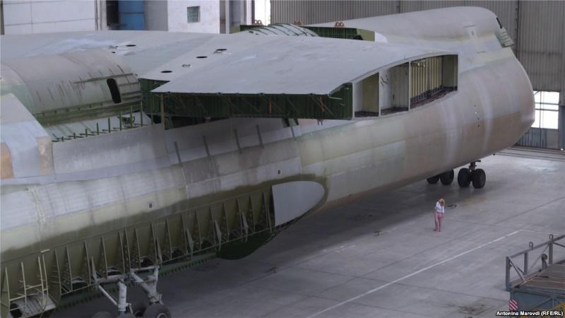 Недостроенная украинская «Мрия» 29 лет ждет полета (фото)