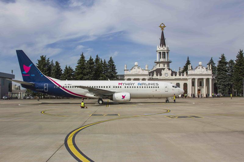 Новый грузинский авиаперевозчик запустил прямые рейсы из Харькова