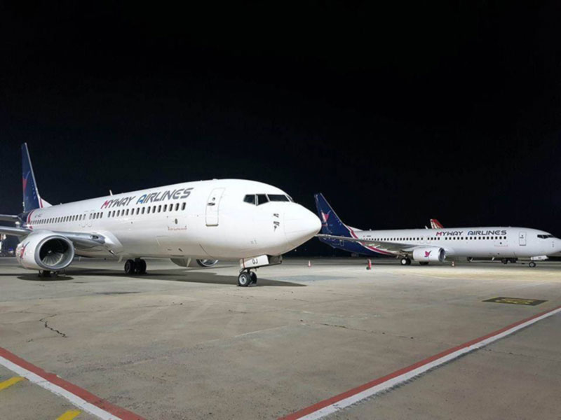 Новая грузинская авиакомпания начинает регулярные рейсы из Тбилиси и Батуми в Харьков