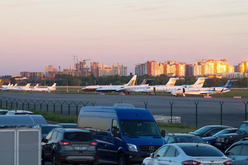 Аэропорт Киев установил рекорд однодневного пассажиропотока