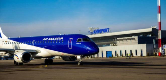 Авиакомпания Air Moldova возобновляет рейсы из Киева в Кишинев