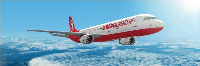 Собственные рейсы авиакомпании «Атласджет Украина» по маршруту Стамбул-Одесса-Стамбул