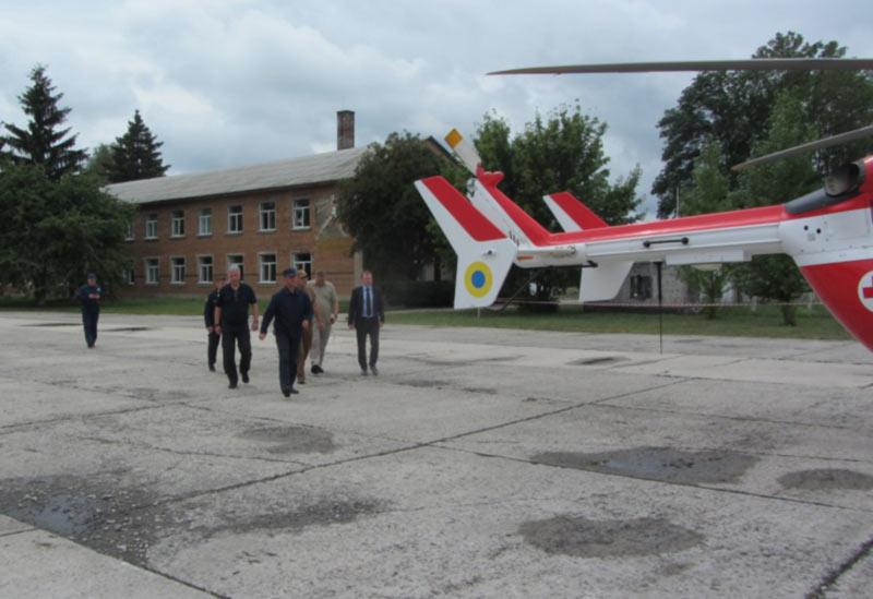 Руководство МВД рассмотрело возможность базирования вертолетов Airbus Helicopters в Нежине