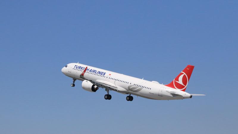Turkish Airlines получили первый самолет A321neo с конфигурацией Cabin Flex от Airbus