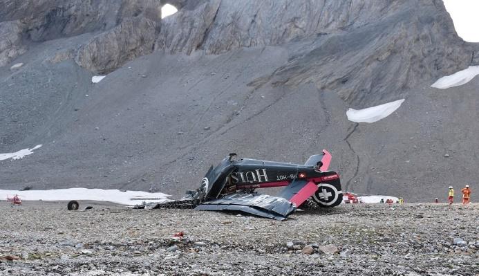 В Швейцарии разбился самолет, 20 погибших — СМИ