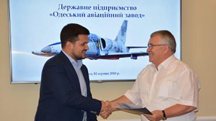 Одесский авиазавод начал международный проект по разработке и производству самолетов