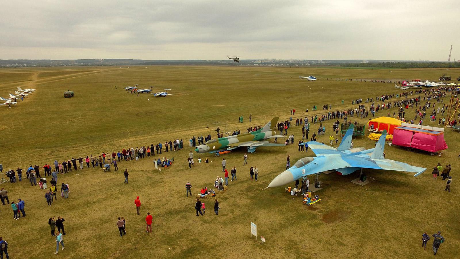 Состоялся Aviafest-2018, более 17 000 посетителей