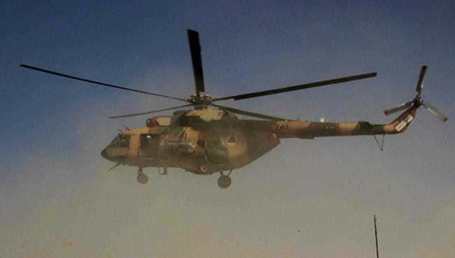 В Афганистане разбился вертолет с украинским экипажем