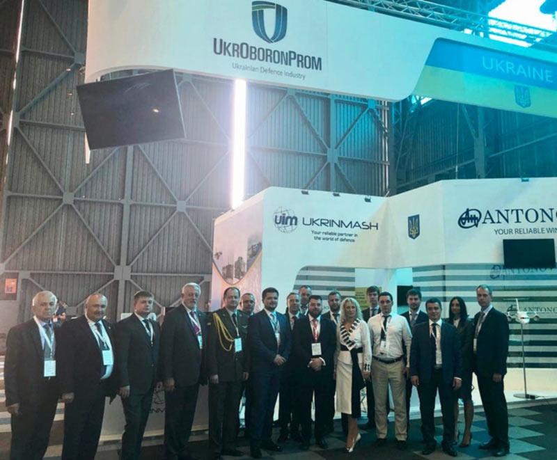 ГП Завод 410 ГА на международной выставка «Africa Aerospace and Defence 2018»