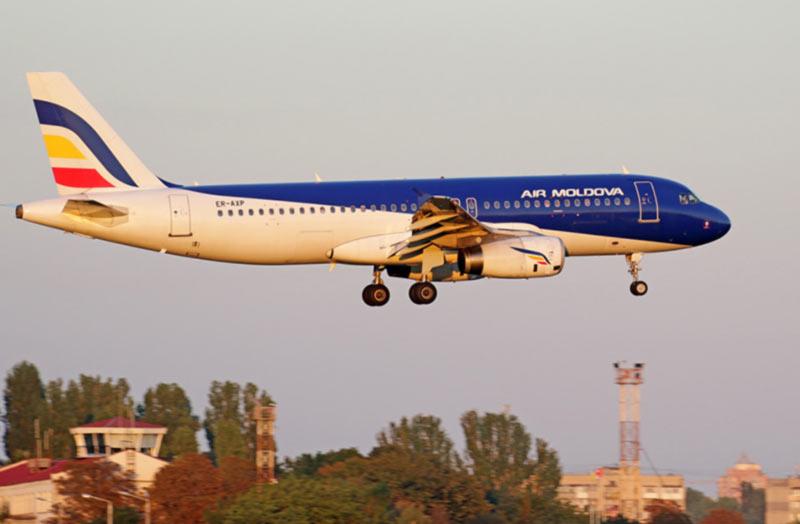 Air Moldova и Bravo в Одессе подменяют Yanair