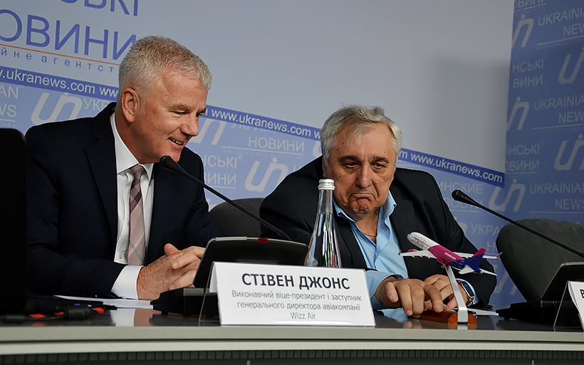 Полеты в Украину очень рентабельны, считает Вице-президент Wizz Air Стивен Джонс