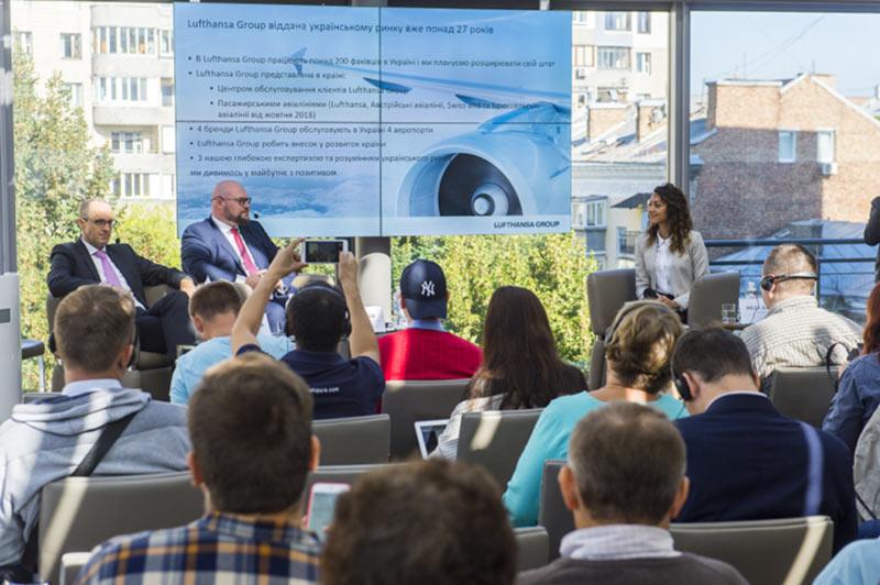 Lufthansa Group продолжает расширять свою деятельность в Украине