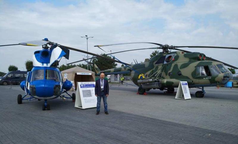 Мотор Сич поставила ВСУ 23 вертолета МИ-8 МСБ и 10 вертолетов МСБ-2