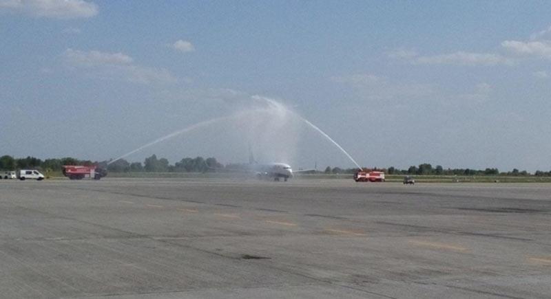 Ryanair выполнил первый регулярный рейс в Украину
