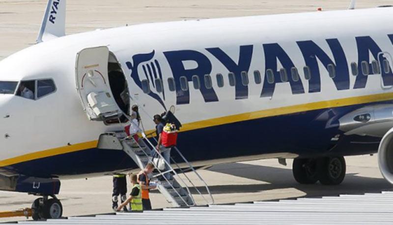 Ryanair отменила 250 рейсов в Европе