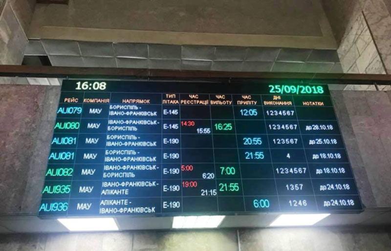В Ивано-Франковском аэропорту обновка