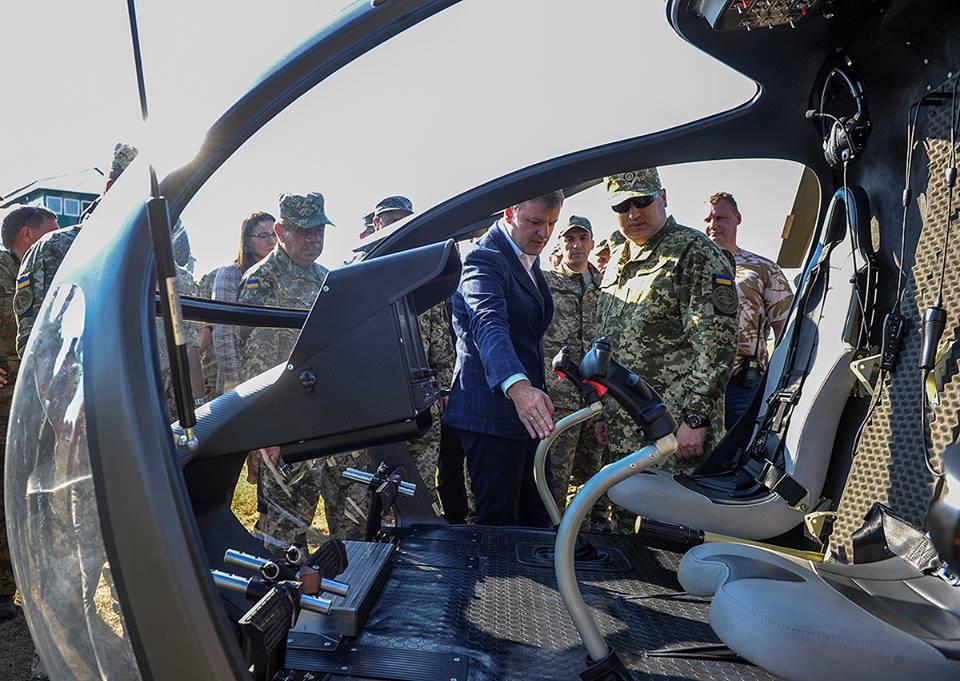 Военные испытали новые легкие вертолеты