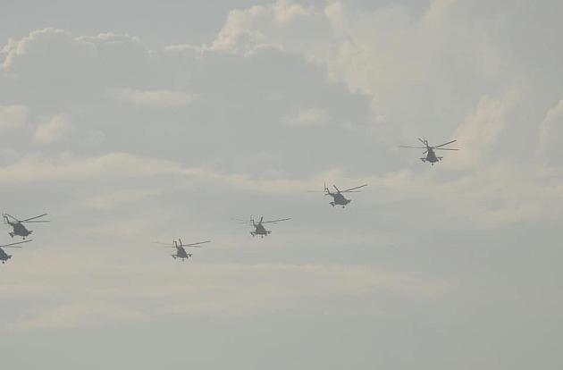 На юге Украины начались военные учения с участием авиации