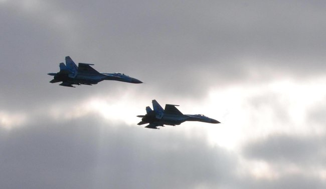 Су-27 разбился под Староконстантиновым