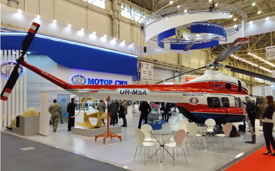 В первой половине 2019 «Мотор Сич» запустит линию по производству собственных винтов для вертолетов