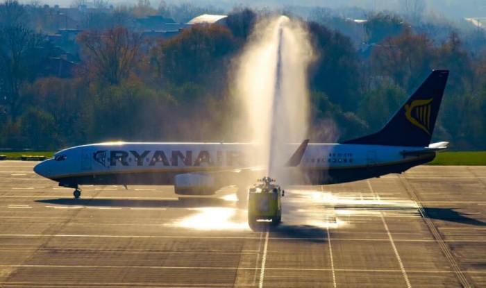 Ryanair начал полеты из Львова