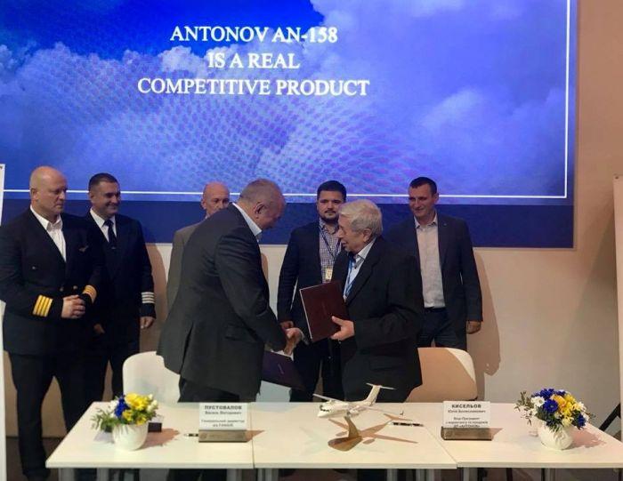 «Антонов» поставит украинской авиакомпании два Ан-158