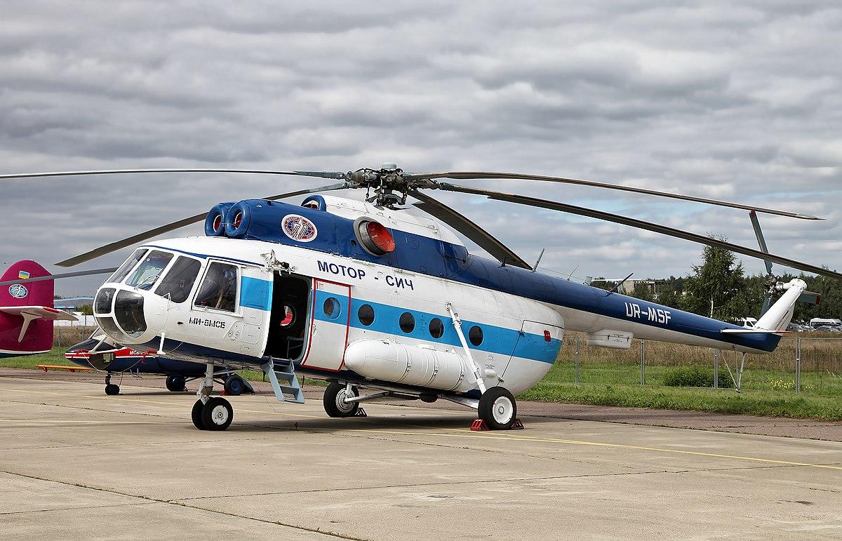 Ми-8МСБ пополнил флот Берлинской вертолетной службы