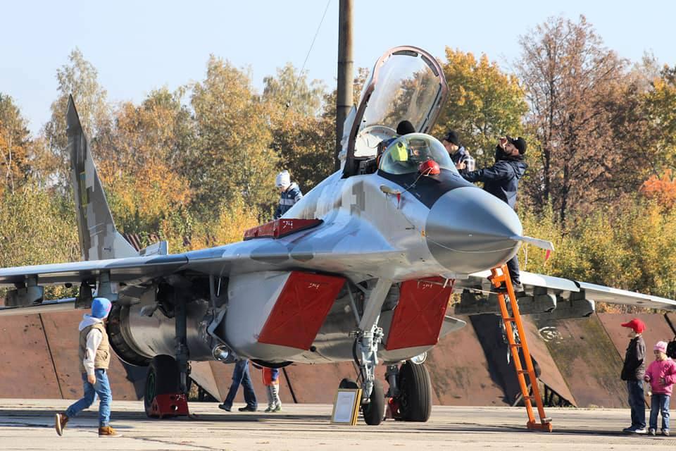 День открытых дверей в бригаде тактической авиации