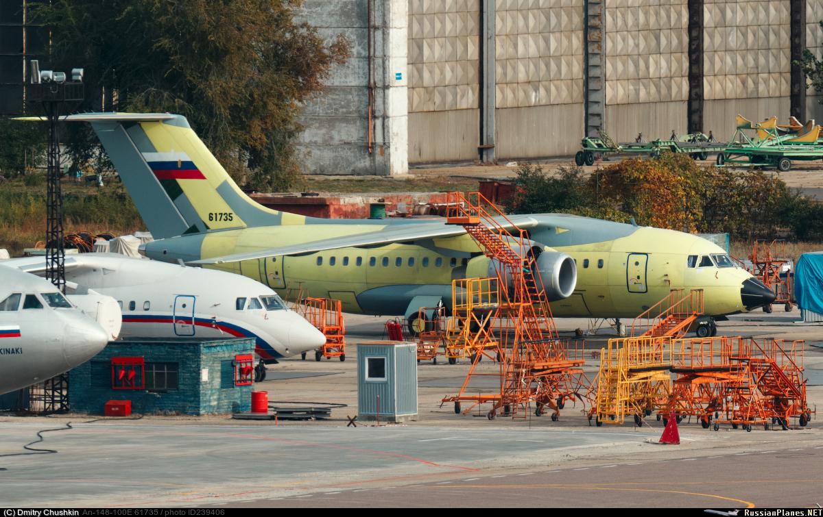 В планах ВАСО прекращение производства самолетов Ан-148